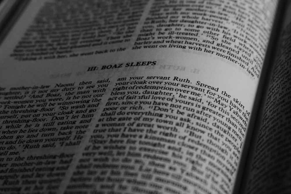 Ruth and Boaz Bible